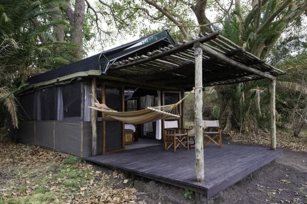 Tented Rooms - Busanga Bush Camp