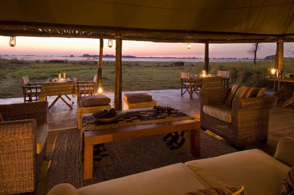 Sunset Views - Busanga Bush Camp