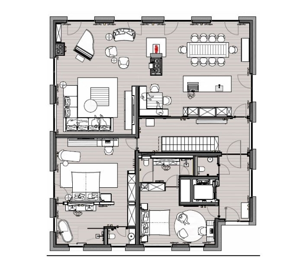 Residence First Floor - Severins Alpine Retreat -