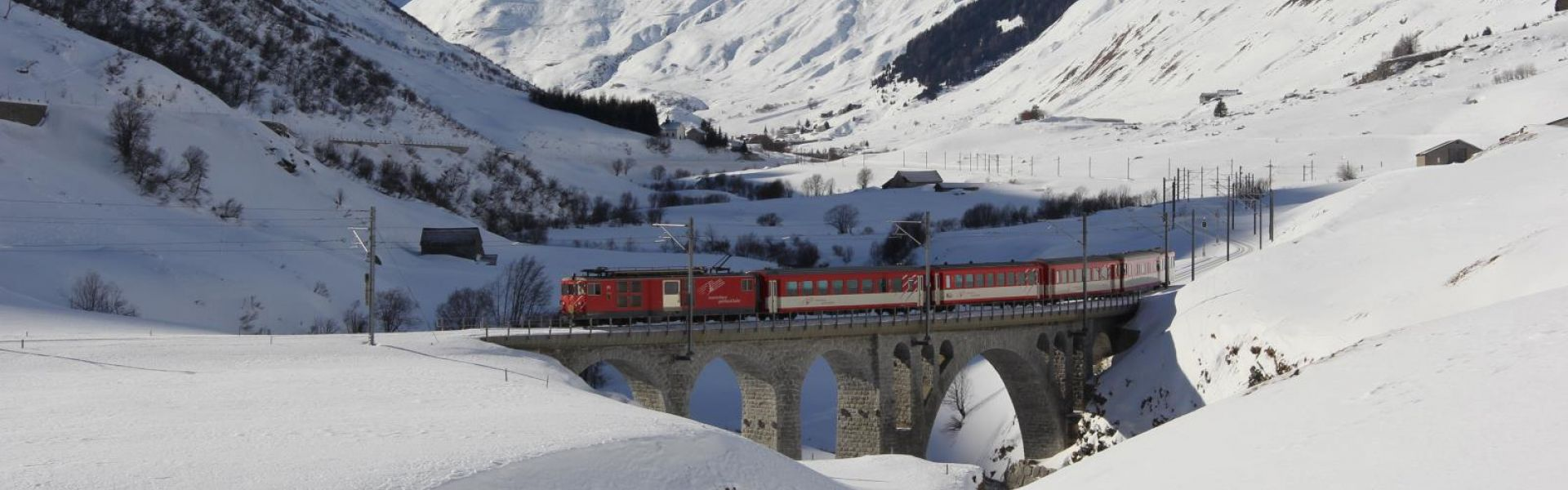 Image result for glacier express between zermatt and st moritz (switzerland)